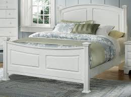 Hamilton Bedroom Furniture American Hamilton Franklin Queen Panel Bed In Snow White