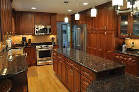 delighful cherry kitchen cabinets black granite jpg n and ideas elegant backsplash counter gorgeous