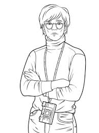 Andy Warhol Coloring Page Free Printable Coloring Pages