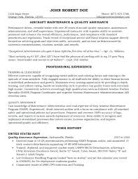 Audit Manager Resume Sample Aircraft Maintenance And Quality