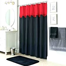 red and blue shower curtain red white and blue shower curtain snowflake striped gray black bathrooms