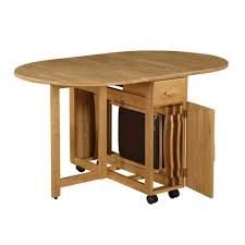 folding kitchen table with fold down sides bench