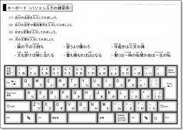 パソコンキーボード画像タイピング入力練習用ダウンロード ちびむすブログ