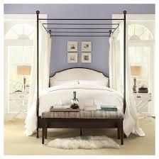Kensington Metal Canopy Bed Inspire Q Tar