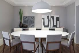 Round Dining Room Tables For 8 Modern Round Dining Table For 8 At Detroit Gt Kitchen Furniture And