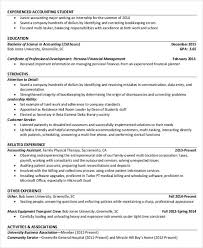 Accountant Resume Interesting 28 Free Accountant Resume Templates PDF DOC Free Premium