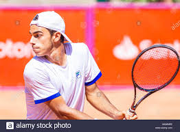 Campinas, Brazil. 04th Oct, 2019. Francisco Cerundolo (ARG) in quarterfinal  match, valid by Santander ATP Challenger