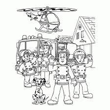 Niewu Brandweerman Sam Kleurplaat Printen Kleurplaat 2019