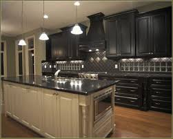 rustic black kitchen cabinets fancy distressed black kitchen cabinets diyjpg kitchen dohatour