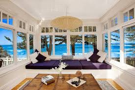 beach house furniture sydney. Sunroom In Sydney Home Brings The Ocean Indoors With Its Open Design [From: Ryan Beach House Furniture N