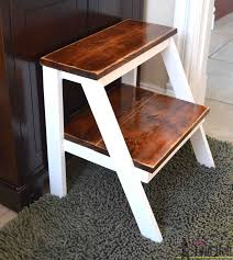 Decorative Step Stools Kitchen 11 Free Step Stool Plans For An Easy Diy Project
