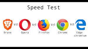 Brave vs Opera vs Firefox vs Chrome vs Edge Chromium || Browser speed test  - YouTube