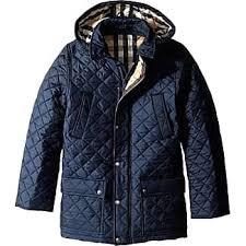 Burberry® Quilted Jackets: Shop up to −60%   Stylight & Burberry Kids Charlie Jacket (Little Kids/Big Kids) (Navy) Boys Coat Adamdwight.com