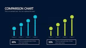 Cdn Comparison Chart Blue Green Color Comparison Chart Business Templates