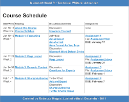 weekly syllabus template syllabus template word templates franklinfire co