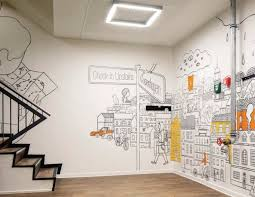 wall murals for office. city crowd decal wall mural design for home office decorating inspiration interior decoration ideas 646 rachaelu0027s resturant pinterest murals r