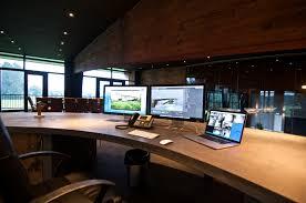 custom office desk. Landscape Architects Amazing Mac Setup Custom Office Desk I