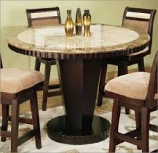 high top dining tables. round counter high marble top dining table tables h