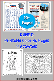 This disney dumbo coloring pages i think also good for your kids, your. Free Printable Dumbo Coloring Pages Activities