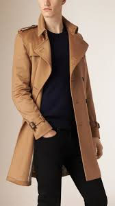gallery men s burberry kensington men s oversized trench coats