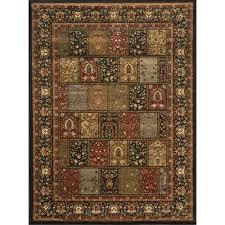home dynamix royalty black 4 ft x 5 ft indoor area rug