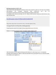Ieee Referencing Untuk Word 2007 Citation Computing