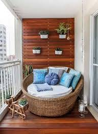 small balcony furniture ideas. Invest On Good Quality Wooden Wall Innings That Give Off The Homey Vibe. Gets Furniture Is Space Saving And Can Serve More Than One Purpose. Small Balcony Ideas T