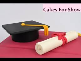 Making Graduation Cake Toppers Youtube