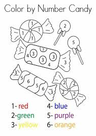 Try gluing the correct number of buttons, beans. Free Printable Color By Number Worksheets For Kindergarten Tulamama
