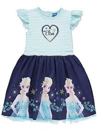 disney frozen elsa lined dress kids