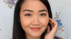 tutorial makeup tips membentuk eyeliner mata kucing lifestyle lin6 indian skin malam