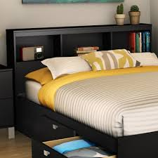 Bookcase headboard is a stunning and sturdy piece of furniture, extremely  functional, ideal for both children and adults. They're not only well  suited for ...