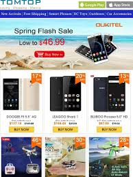 TOMTOP: Spring Smartphone Flash Sale, Low to $46.99 &Massive ...