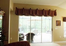 window valances above sliding doors | Enchanting Window Treatments for Sliding  Glass Doors : Valances Window