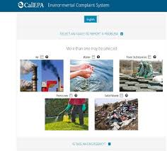 Calepa Website Takes Environmental Complaints From The Public