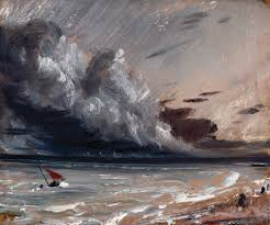 john conle r a 1776 1837 seascape study boat and stormy sky ca 1824 1828 copyright royal academy of arts london photographer john hammond
