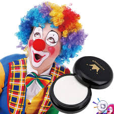amazon ccbeauty special effects white clown makeup pressed powder pact cosplay gothic vire zombie concealer