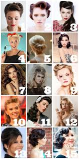 15 Cute Retro Hairstyles Number 4 And 9 Are My Favs I