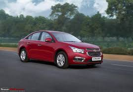 new car launches team bhpChevrolet Cruze gets a minor facelift  more features for 2016