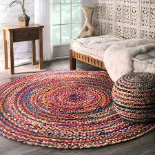 happy braided round rug com nuloom casual handmade cotton area 6