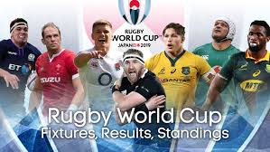 2015 Rugby World Cup Results Chart Rugby World Cup 2019 Fixtures Results Groups Standings