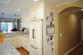 refrigerator end panel cabinet. magnetic wood refrigerator panels? traditional-kitchen end panel cabinet