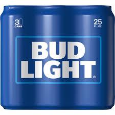 Custom Bud Light Cans Bud Light Beer 3 25 Fl Oz Cans Walmart Com