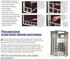 glass block install instructions step by step