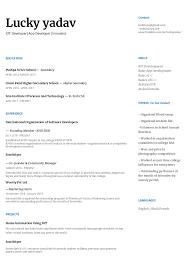 Resume Lucky Google Docs