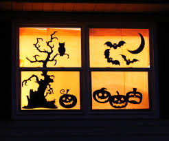 ... Large-size of Catchy Halloween Windows Decorations With Fall Halloween  Window Decorations in Halloween Window ...