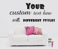 custom vinyl wall decals es unique make your own wall decal s wall and door tinfishclematis
