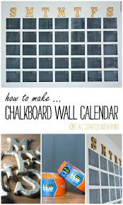 Large Hanging Chalkboard Chalkboard Wall Calendar Diy It All Started With Paint