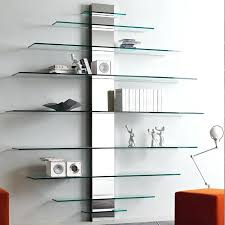 wall mounted glass shelves for electronics wall mount glass