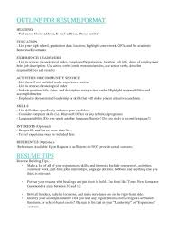 What Order To List Jobs On Resume how to order resume order of a resume madratco professional 1